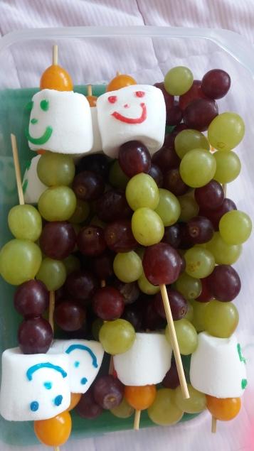 Weintrauben Spiesse