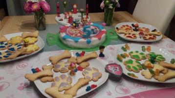 Kuchen und Kekse Paw Patrol