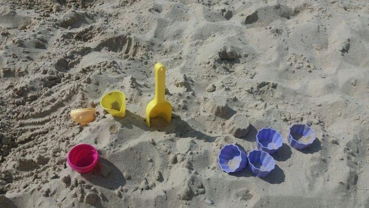 Sandformen für Eis und Muffins