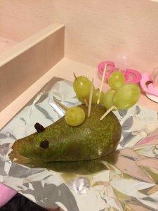 Birnen-Trauben-Igel