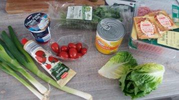 Rezept Wraps mit Hack und Gemüse