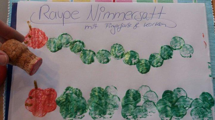 Raupe Nimmersatt