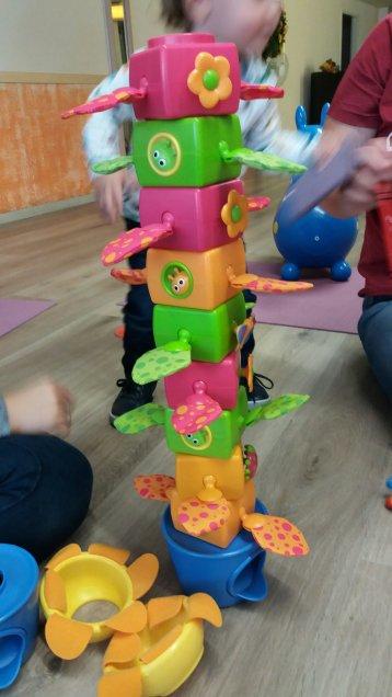Steckturm mit Blume Yookidoo