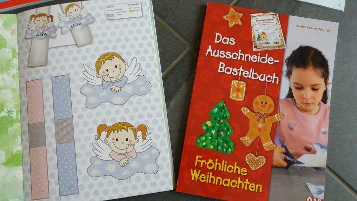 Bastelbuch Weihnachten CV