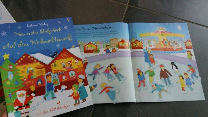Stickerbuch Weihnachten Usborne