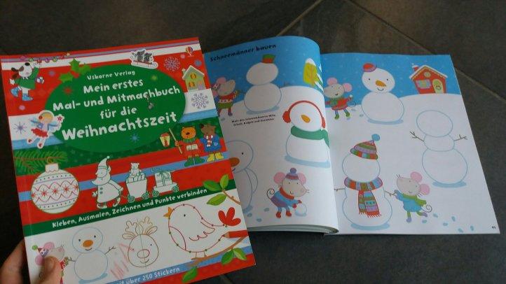 Mitmachbuch Weihnachten Usborne