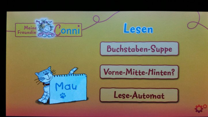 Conni Buchstaben App für Kinder