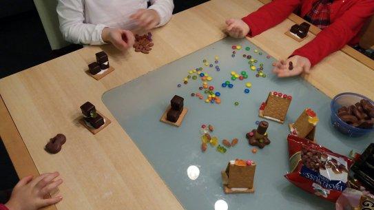 In Der Weihnachtsbackerei Teil 1 Essbare Deko Lebkuchenhauser