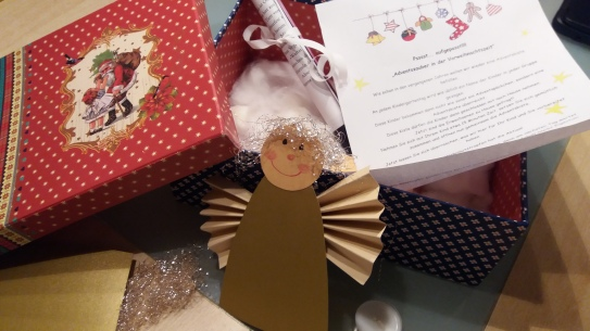 15 Minuten Weihnachten in der Kiste