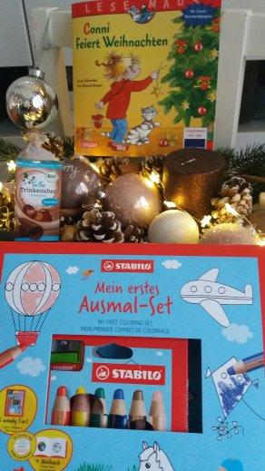 Stabilo Ausmalset, Conni feiert Weihnachten und Teefee Trinkzauber