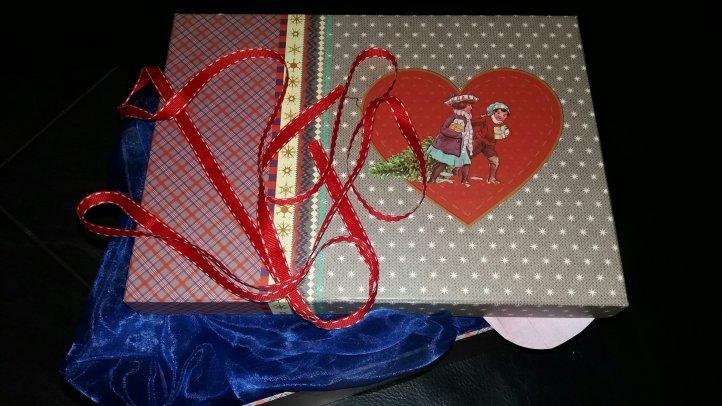 Weihnachtskiste, Foto: Mama Michi