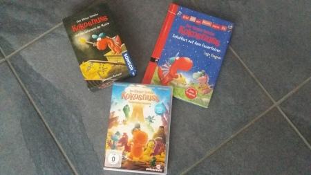 Drache Kokosnuß Buch, Cd, DVD, Spiel