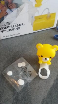 Omron Kompressor Vernebler für Kinder