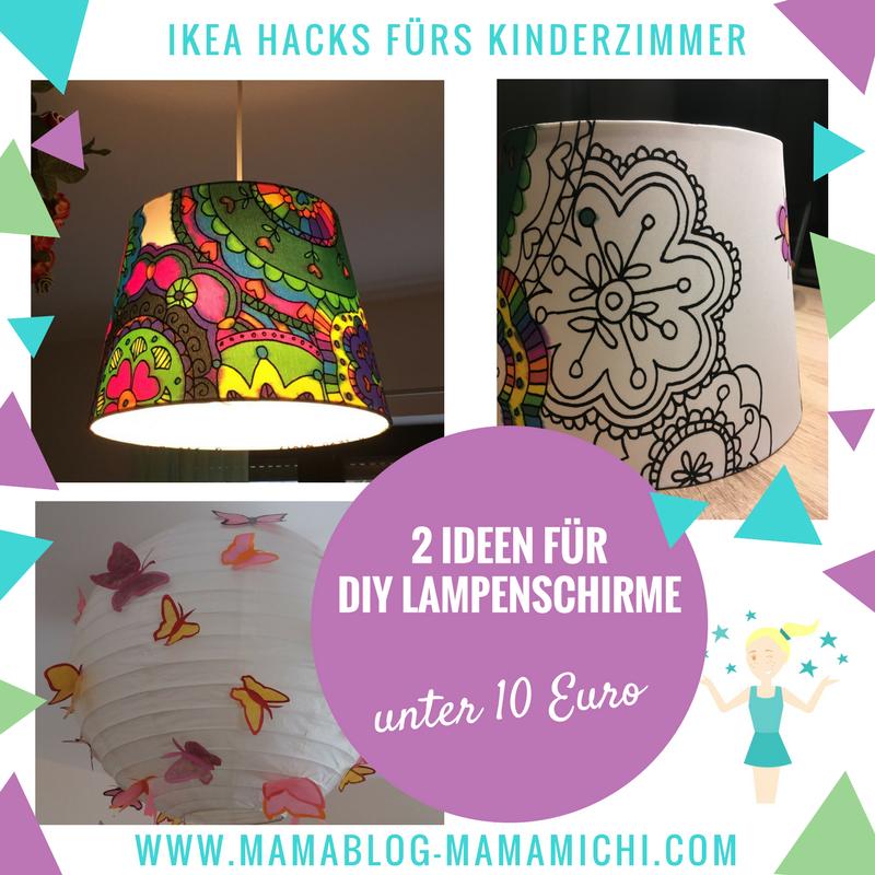 Lampenschirme Diy Ikea Hacks Furs Kinderzimmer Unter 10 Euro