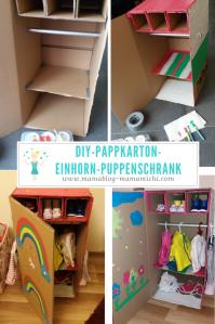 DIY Einhorn Puppenschrank