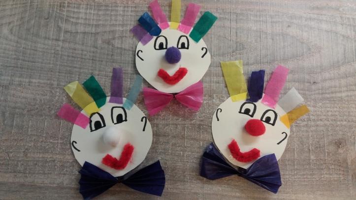 Clowneinladungen zu Fasching oder Zirkusgeburtstag