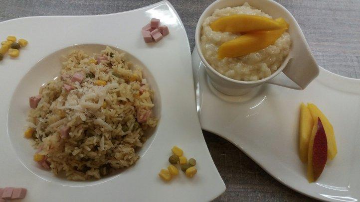 Rii-Jii Reis herzhaft und süß: Risi Bisi und Mangomilchreis