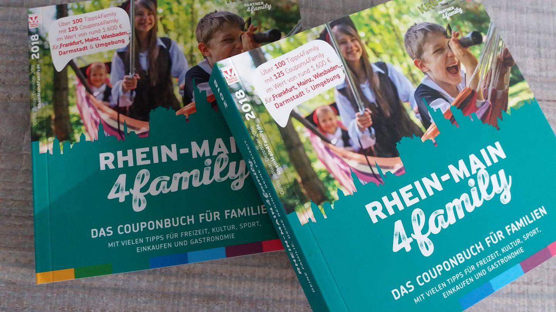 Couponheft Rhein Main 4 Familiy