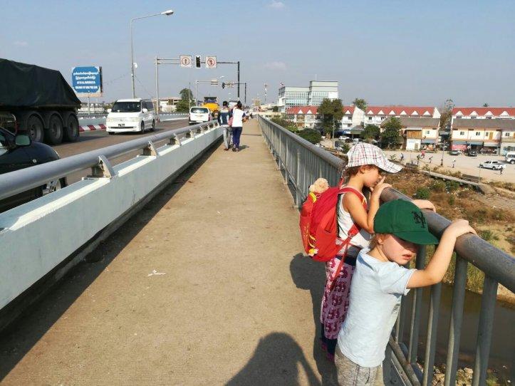 Grenze Myanmar (Burma) und Thailand