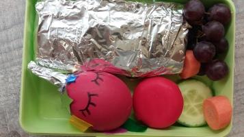 Einhorn Ei in der Brotdose