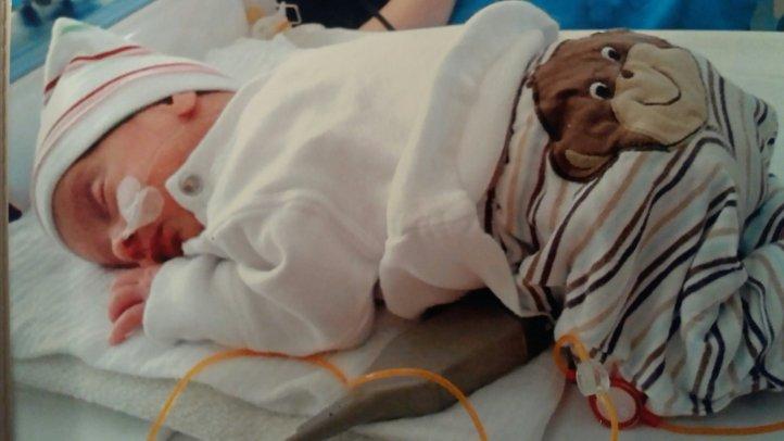 Zwillinge in der Kinderklinik