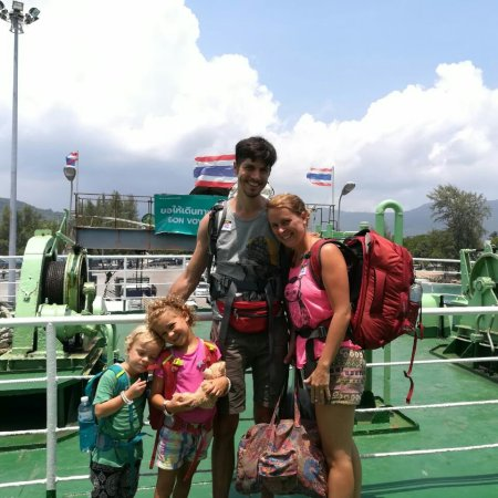 Backpacking in Thailand mit Kindern