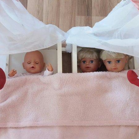 3 Kinder ins Bett bringen