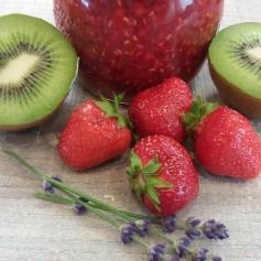 Erdbeer-Kiwi Marmelade