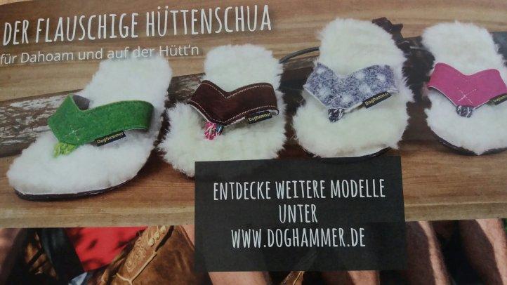 flauschiger Hüttenschuh Doghammer,  foto: Doghammer