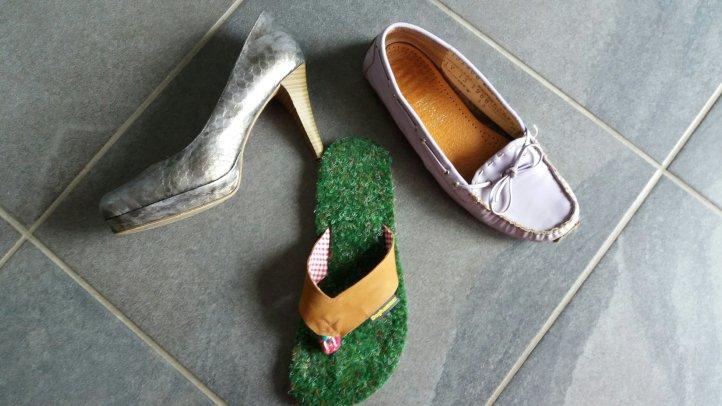 welchen Schuh zum Dirndl?