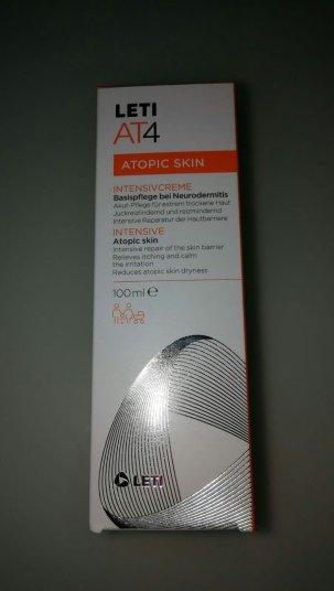 LetiAT4 Intensivcreme gegen Neurodermitis und Atopische Haut
