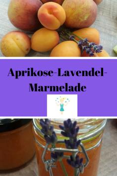 Lavendel-aprikosenmarmelade