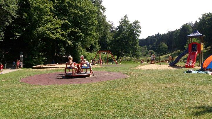 Spielplatz am Wildpark Heigenbrücken