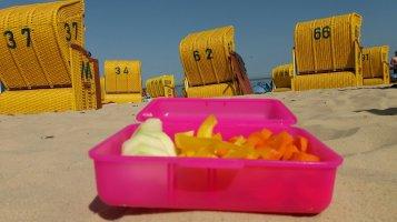 Snackboxen für den Strand