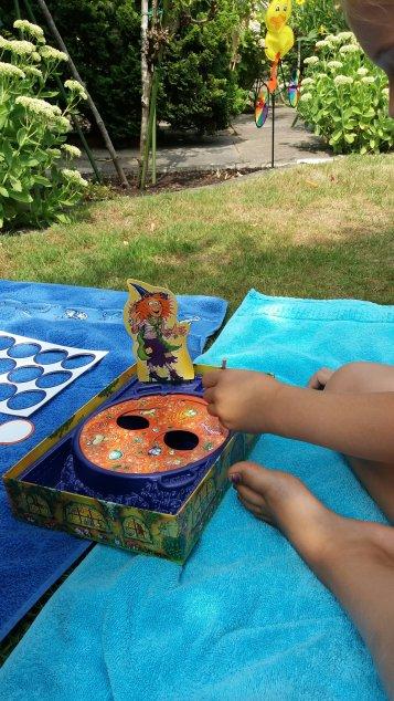 die freche Sprechhexe von Ravensburger, Lernspiele, spielend Neues lernen