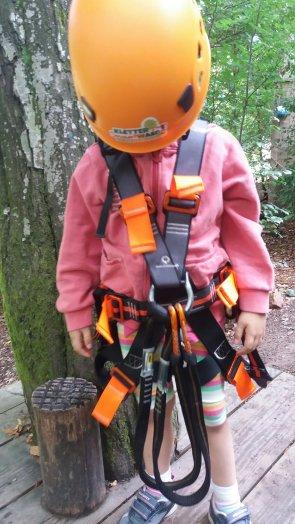 Klettersystem Expoglider Kletterwald Spessart