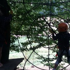 Kinderparcour Kletterwald Spessart