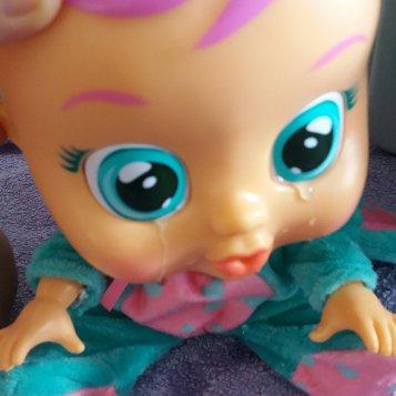 Cry Baby weint echte Tränen