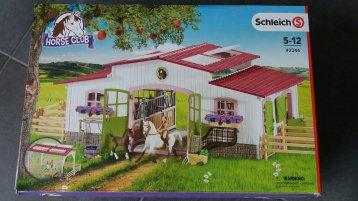 Schleich Pferdestall Horse Club