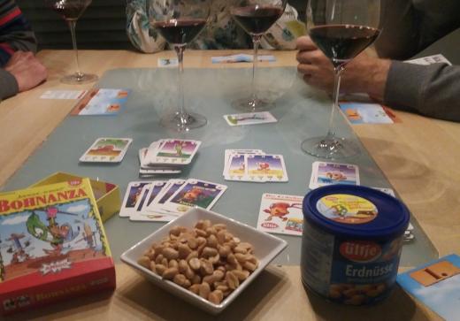 Spielen und Knabbern, Bohnanza AMIGO mit Ültje