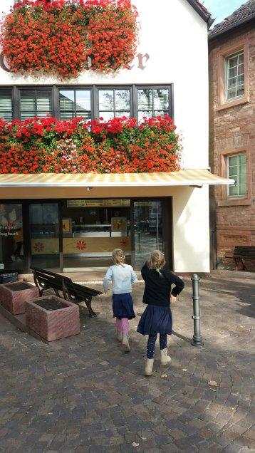 Eis essen in Seligenstadt