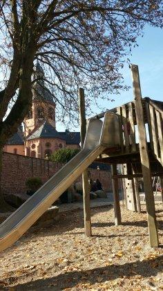 Spielplatz Seligenstadt Mainuferweg