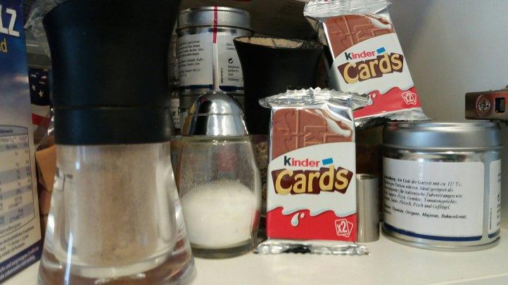 kinder Cards, die neue Kekswaffel von Ferrero