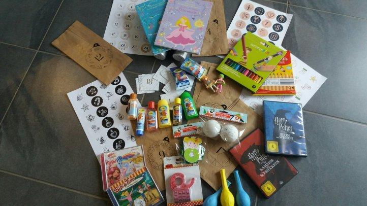 Inhalte DIY Adventskalender für Kinder