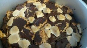 Brownie-Marshmallow-Kuchen