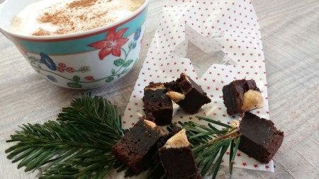 Brownie mit Marshmallows