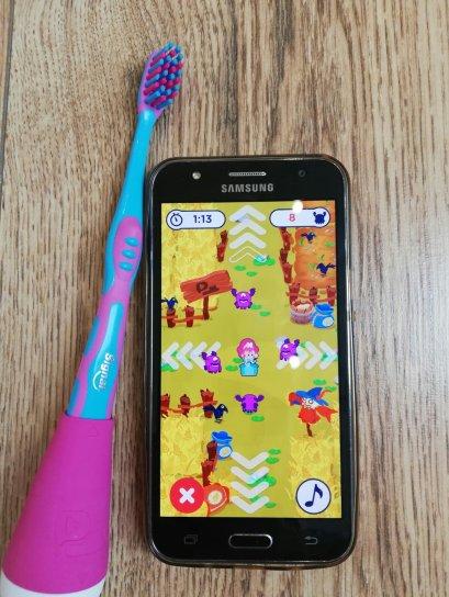 Playbrush Spiele App fürs Zähneputzen