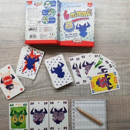 6 nimmt Amigo Spiele in der 25 Jahre Edition