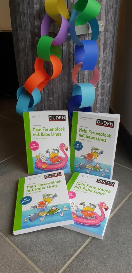 Rabe Linus Übungsbücher für die Grundschule, Duden Verlag
