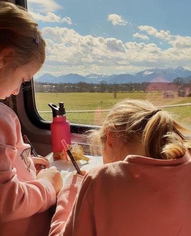 Mit der Bahn und Kindern nach Österreich reisen